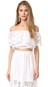 Miguelina Dakota Off Shoulder Top