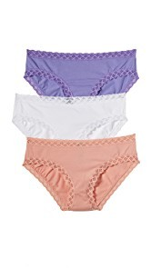 Natori 3 Pack of Bliss Girl Briefs