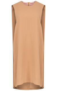 Бежевое платье La Reine Blanche
