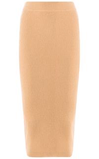 Длинная трикотажная юбка La Reine Blanche