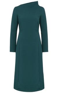 Платье с фигурным воротником La Reine Blanche