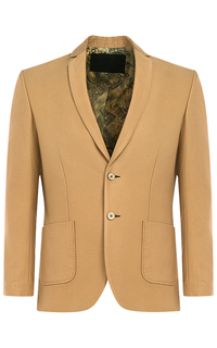 Бежевый пиджак Al Franco