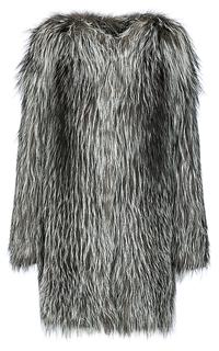 Жакет из вязаного меха лисы Fellicci