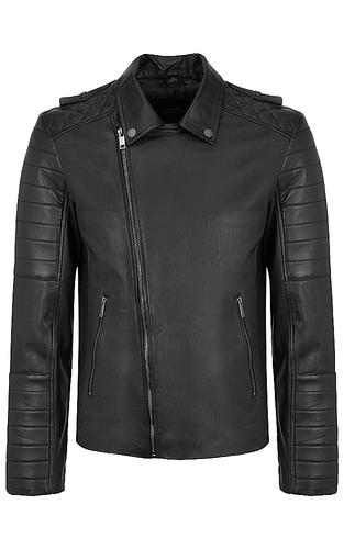 Мужская куртка-косуха из натуральной кожи