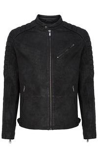 Мужская кожаная куртка Urban Fashion for men