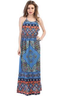 Платье женское Roxy Summer Agadir Border Combo Brown