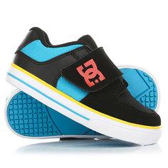 Кеды кроссовки низкие детские DC Pure V Ii Black/Multi