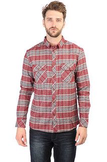 Рубашка в клетку Quiksilver Riverback Pomegranite River Ba
