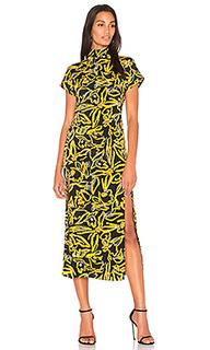 Платье с разрезом сбоку - Diane von Furstenberg