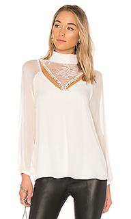 Блузка с длинным рукавом through the looking glass - Haute Hippie