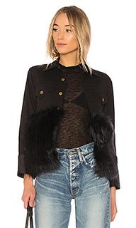 Куртка с искусственным мехом denim - Harvey Faircloth
