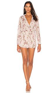 Цветочное платье-рубашка valentina - Karina Grimaldi
