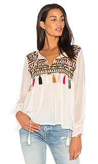 Блуза с вышивкой ragazza - Karina Grimaldi