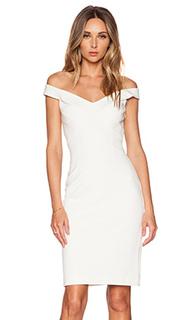 Платье с открытыми плечами и перекрестными шлейками на спине - NICHOLAS