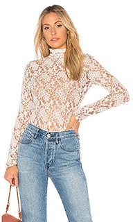 Топ с воротником sweater lace - Nightcap