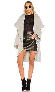 Пальто с шалевым воротом - Norma Kamali