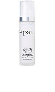 Восстанавливающий дневной крем geranium and thistle - Pai Skincare