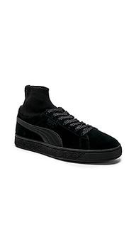 Кроссовки suede classic socks - Puma Select