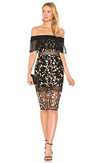 Кружевное платье с открытыми плечами - VONE