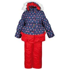 """Комплект: куртка и полукомбинезон """"Вишня"""" OLDOS для девочки"""