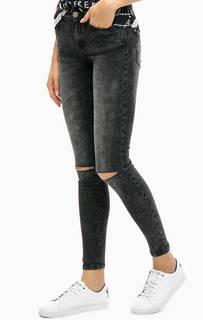 Серые джинсы скинни Alcott