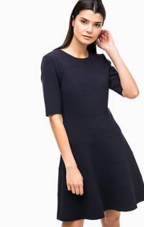 Синее платье с расклешенной юбкой Paul & Joe Sister