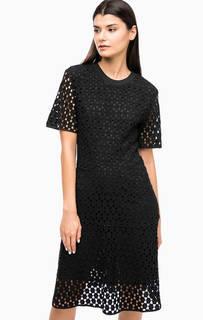 Черное кружевное платье Paul & Joe Sister