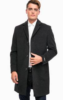 Классическое пальто из шерсти Lagerfeld