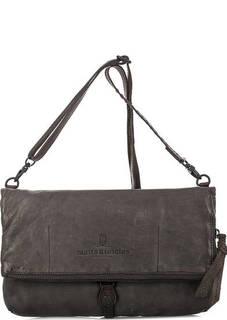 Кожаная сумка через плечо Aunts & Uncles