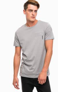 Хлопковая футболка с короткими рукавами Jack & Jones