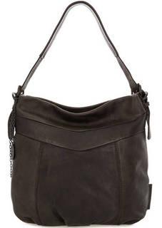 Темно-коричневая сумка из натуральной кожи Aunts & Uncles