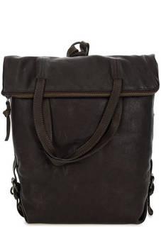 Кожаная сумка-рюкзак с двумя отделами Aunts & Uncles