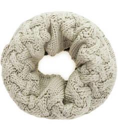 Бежевый шарф-хомут Buff