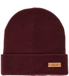 Бордовая шерстяная шапка Noryalli