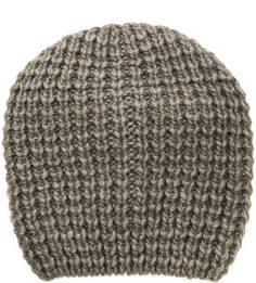 Вязаная серая шапка Noryalli