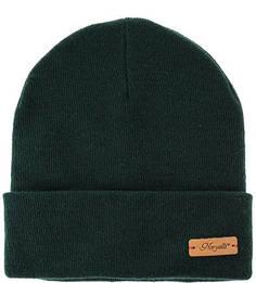 Зеленая шерстяная шапка Noryalli