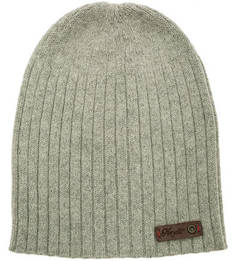 Серая шапка из альпаки Noryalli