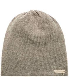 Серая шапка с высоким содержанием шерсти Noryalli
