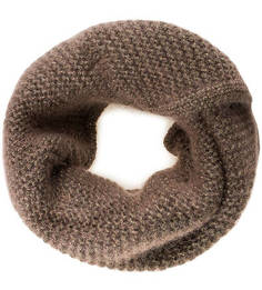 Вязаный шарф-хомут из мохера Noryalli