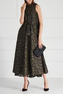 Жаккардовое платье Viktoria Irbaieva