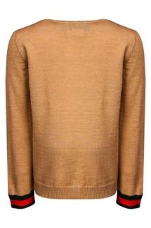Однотонный пуловер Gucci Children