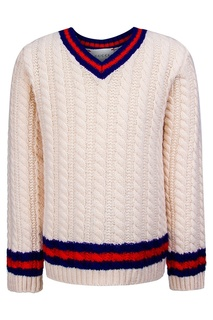 Пуловер с косами Gucci Children