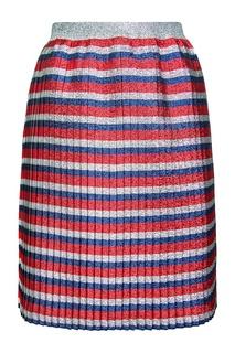 Плиссированная юбка Gucci Children