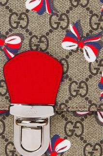 Портфель с принтом Gucci Children