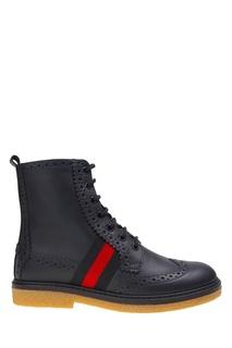 Кожаные ботинки Gucci Children