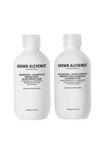 Набор для волос питательный 0.6 Nourishing (Питательный шампунь, 200 ml + Питательный кондиционер, 200 ml) Grown Alchemist