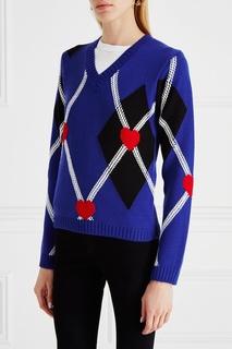 Шерстяной пуловер Msgm