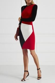 Платье колор-блок Fausto Puglisi