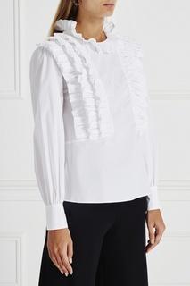 Хлопковая блузка Monaco Vivetta