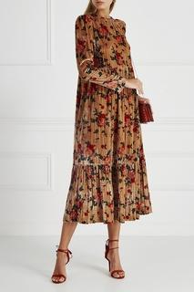 Бархатное платье Santiago Vivetta